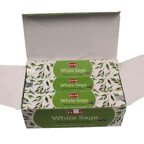 HEM New White Sage Masala Ince is listed (or ranked) 16 on the list The Best Incense to Support Positive Energy
