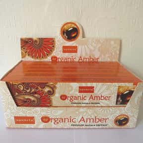 Nandita AMBER Premium Organic  is listed (or ranked) 17 on the list The Best Incense to Support Positive Energy