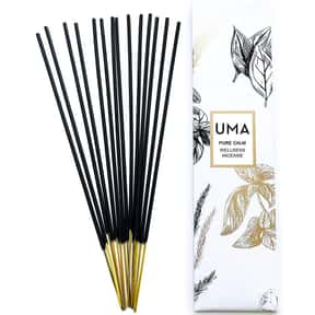UMA Pure Calm Wellness Incense is listed (or ranked) 22 on the list The Best Incense to Support Positive Energy