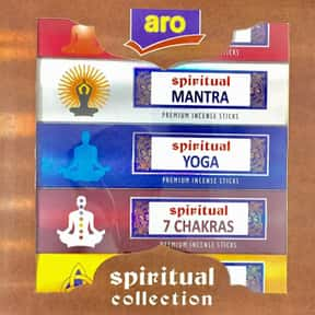 Aro - Spiritual Collection Pre is listed (or ranked) 23 on the list The Best Incense to Support Positive Energy