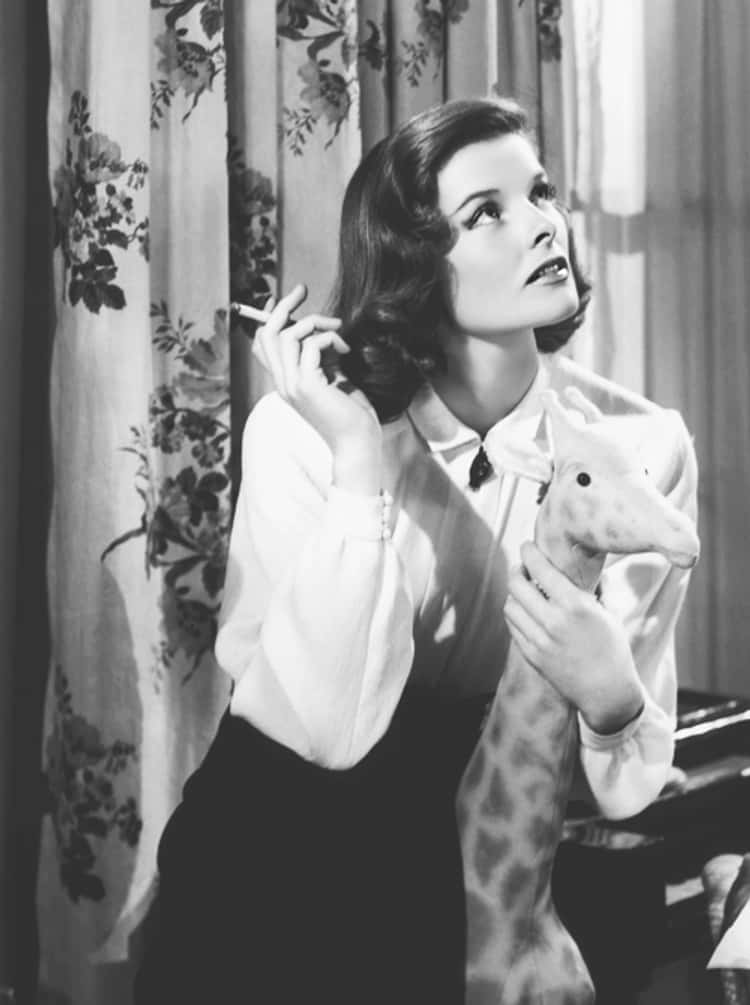 Katharine Hepburn Started Speaking With The Accent To Control Her Voice