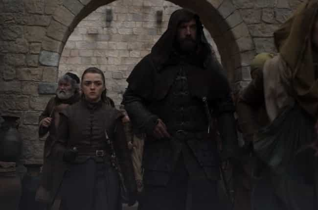 Arya And The Hound Head For Ki... is listed (or ranked) 4 on the list Everything That Happened In 'Game Of Thrones' Season 8, Episode 5: The Bells