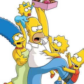 The Simpsons is listed (or ranked) 2 on the list The BestCartoon Families In TV History