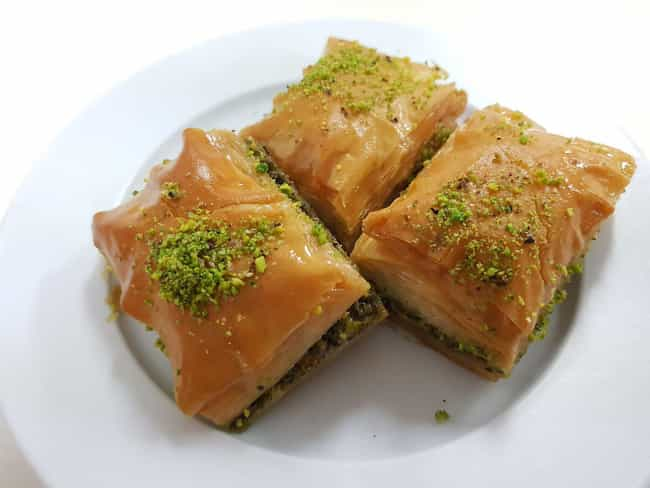 Baklava is listed (or ranked) 1 on the list How A Sultan In The Ottoman Empire Dined