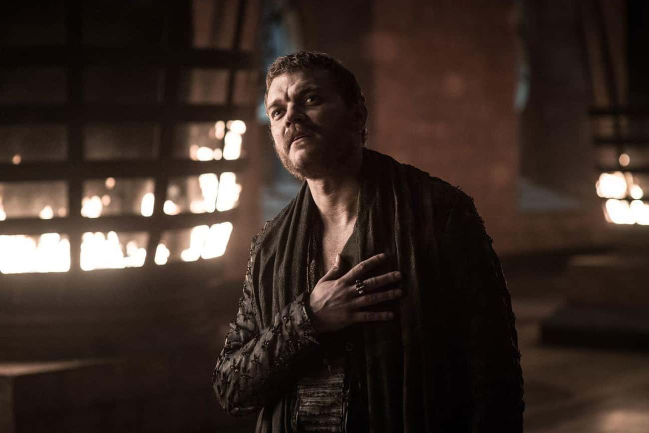 They Were Lesser Men is listed (or ranked) 4 on the list The Best Euron Greyjoy Quotes