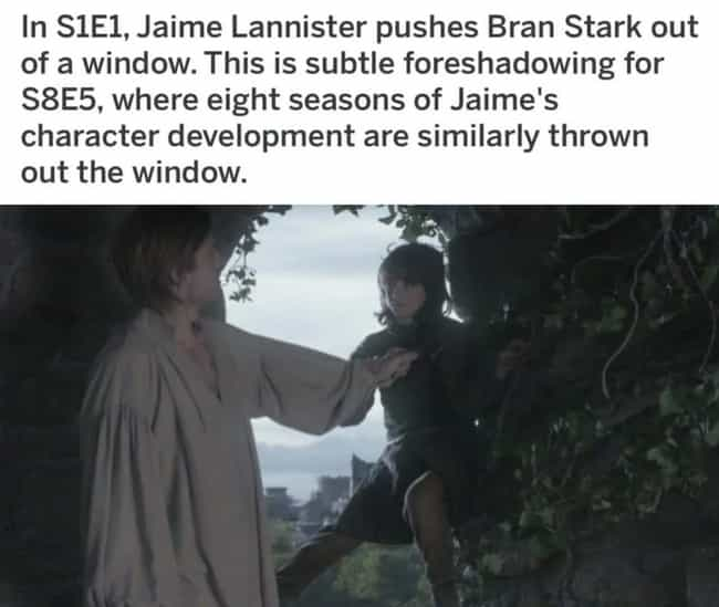 Right Out The Window is listed (or ranked) 6 on the list 20 Memes About 'Game Of Thrones' Season 8, Episode 5, 'The Bells'
