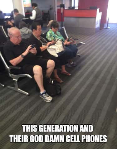 Everyone's Addicted is listed (or ranked) 1 on the list The 23 Funniest Baby Boomer Memes