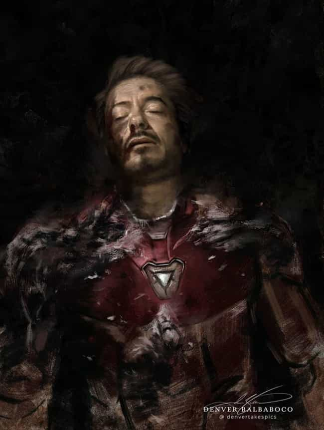 'Avengers: Endgame': The... is listed (or ranked) 1 on the list This Artist Paints Classical Style Portraits Of Your Favorite Fictional Characters