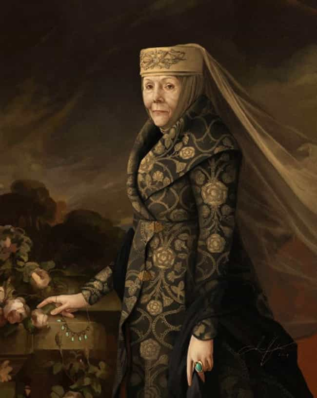 'Game of Thrones': A Portrait ... is listed (or ranked) 4 on the list This Artist Paints Classical Style Portraits Of Your Favorite Fictional Characters