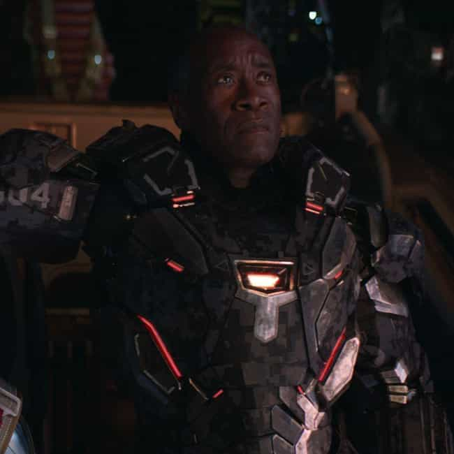 Baby Thanos is listed (or ranked) 4 on the list The Best War Machine Quotes