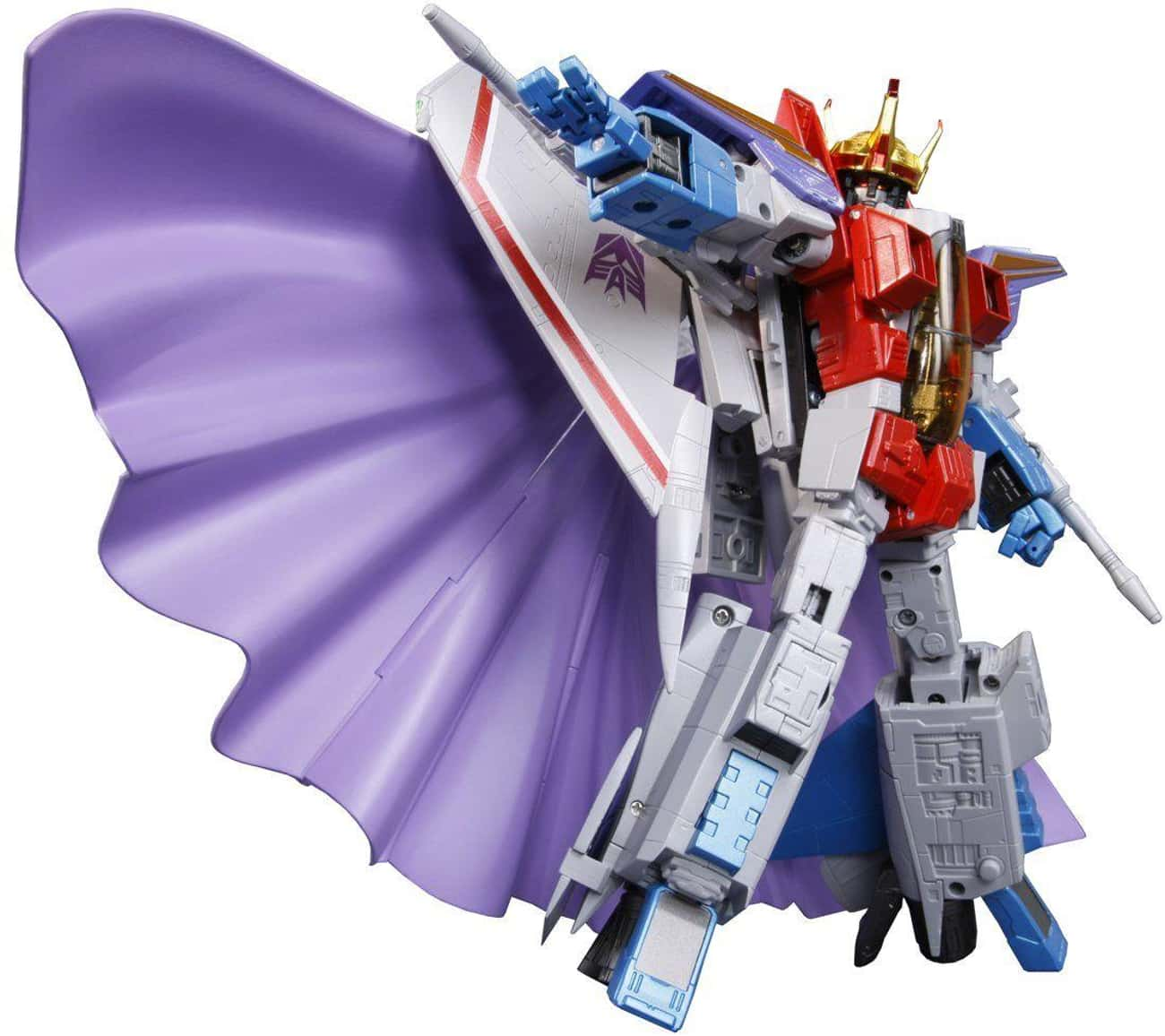 Masterpiece Starscream is listed (or ranked) 3 on the list The Best Starscream Toys, Ranked