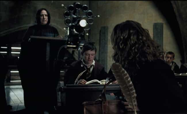 Know-It-All is listed (or ranked) 3 on the list The Best Severus Snape Quotes