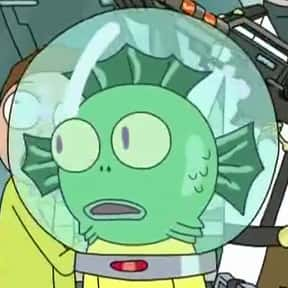 Aqua Morty is listed (or ranked) 16 on the list All 39 Versions Of Morty That We've Seen On Rick And Morty