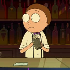 Bartender Morty is listed (or ranked) 11 on the list All 39 Versions Of Morty That We've Seen On Rick And Morty