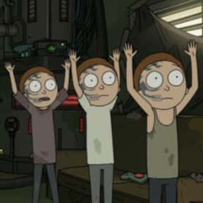 Mortytown Locos is listed (or ranked) 17 on the list All 39 Versions Of Morty That We've Seen On Rick And Morty