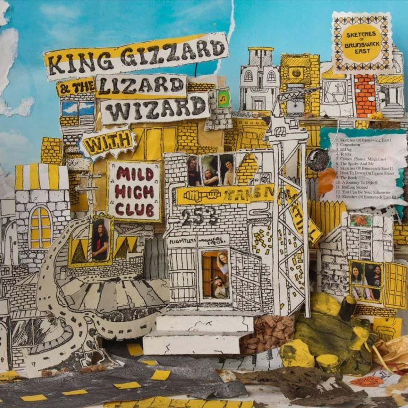 Sketches of Brunswick East (w/ is listed (or ranked) 4 on the list The Best King Gizzard & the Lizard Wizard Albums, Ranked