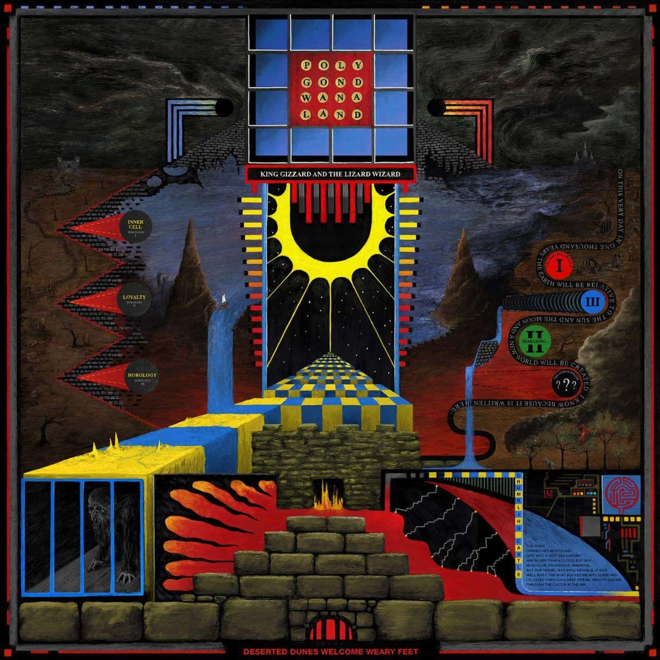 Polygondwanaland is listed (or ranked) 3 on the list The Best King Gizzard & the Lizard Wizard Albums, Ranked