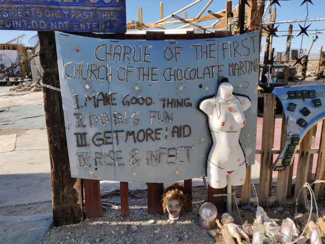 East Jesus Was Founded B... is listed (or ranked) 1 on the list Inside East Jesus, One Of Slab City's Most Famous Communes