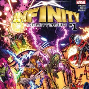 Infinity Countdown (2018) #1 is listed (or ranked) 2 on the list The Best Free Comics on ComiXology