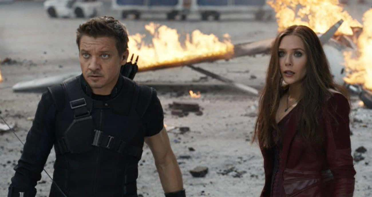 No Sense is listed (or ranked) 1 on the list The Best Hawkeye Quotes
