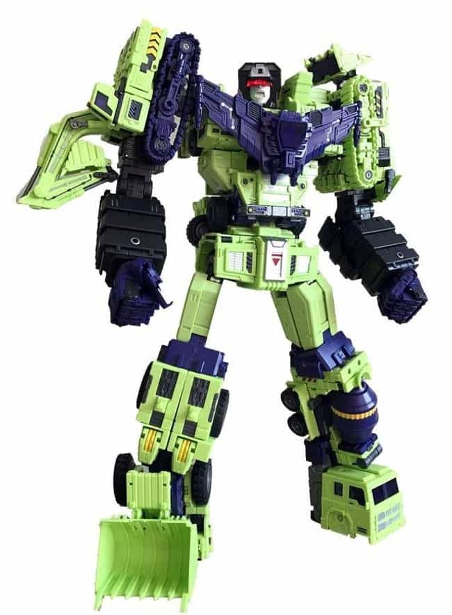 Toyworld Constructor is listed (or ranked) 3 on the list The Best Devastator Toys, Ranked
