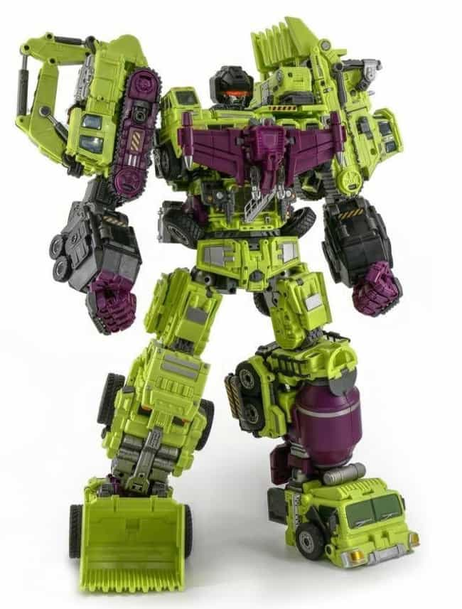 Gravity Builder is listed (or ranked) 1 on the list The Best Devastator Toys, Ranked