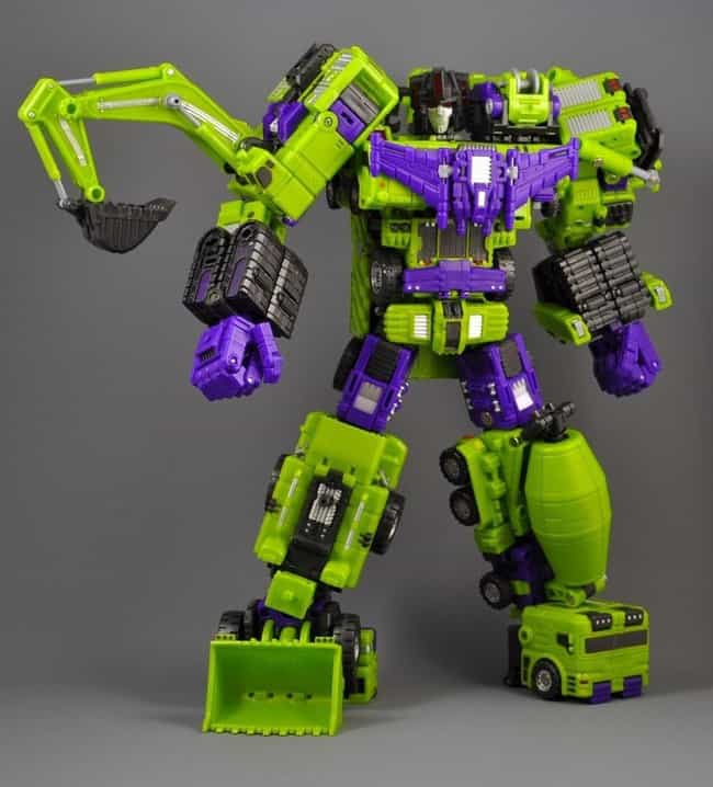 TFC Toys Hercules is listed (or ranked) 4 on the list The Best Devastator Toys, Ranked