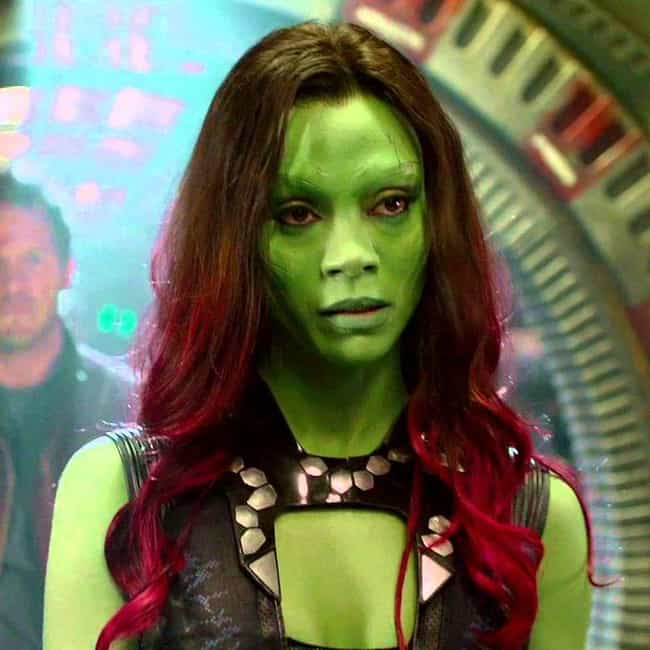 Surrounded is listed (or ranked) 1 on the list The Best Gamora Quotes