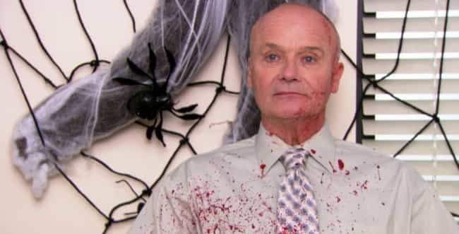 Halloween is listed (or ranked) 2 on the list The Best Creed Episodes of 'The Office'