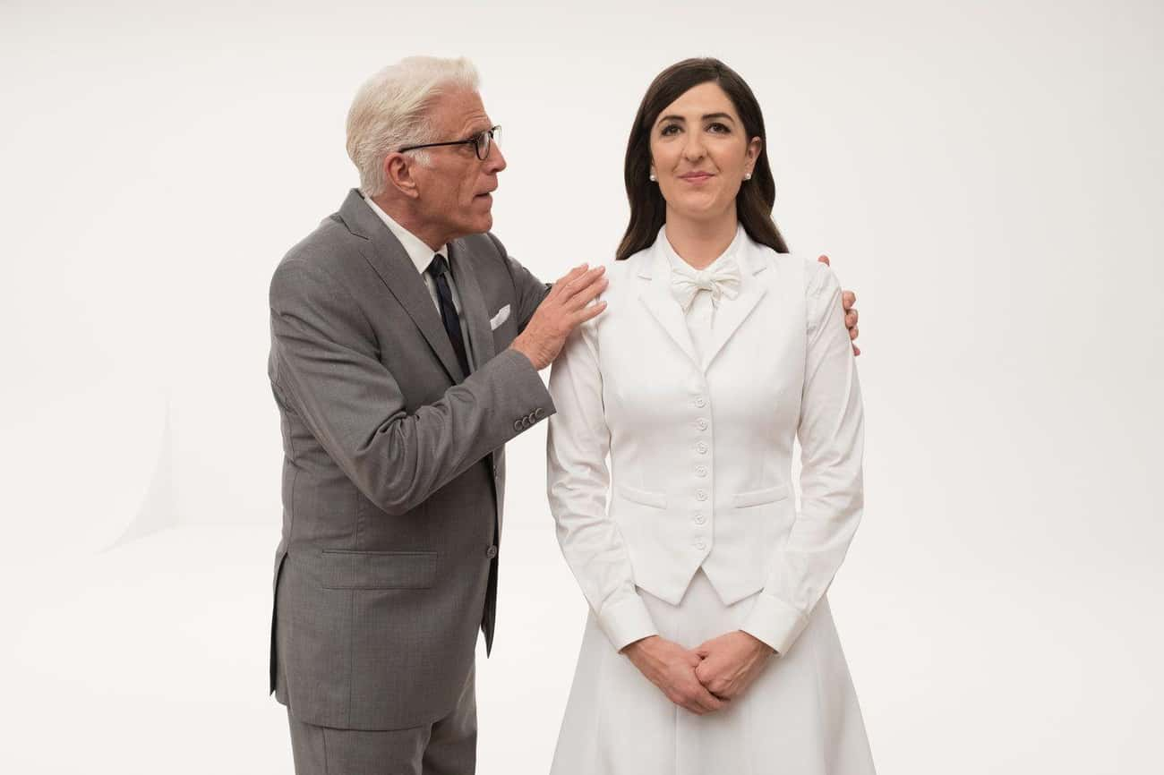 Janet and Michael is listed (or ranked) 3 on the list The Best Janet Episodes of 'The Good Place'