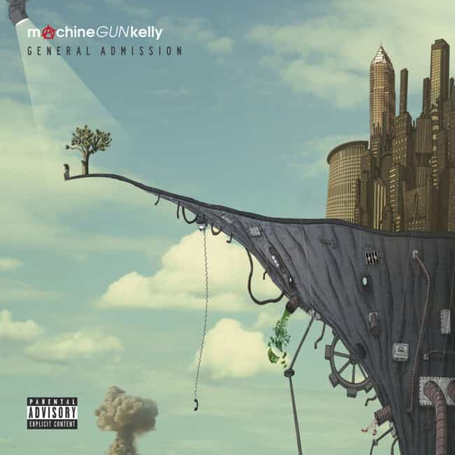 General Admission is listed (or ranked) 4 on the list The Best Machine Gun Kelly Albums, Ranked