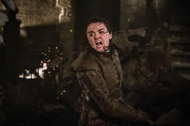 Fans Loved Arya's Story Arc - ... is listed (or ranked) 4 on the list Did Fans Really Hate The 'Game Of Thrones' Finale? Let's Look At The Data