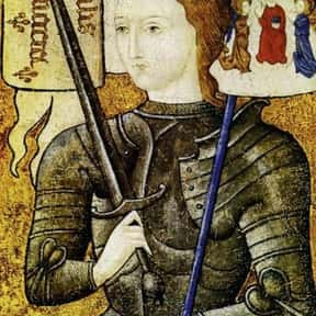 Jeanne d'Arc is listed (or ranked) 7 on the list If You Fought To The Death, Who Would You Want By Your Side?