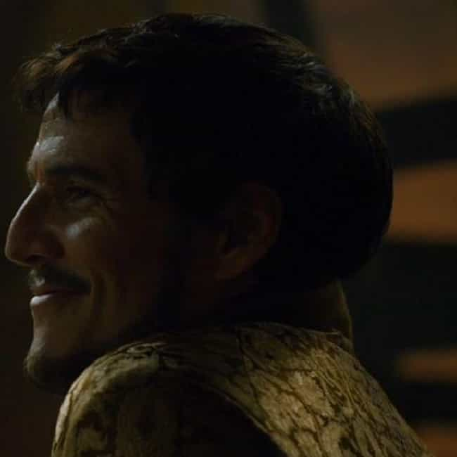 Frown Upon Those Of Low ... is listed (or ranked) 2 on the list The Best Oberyn Martell Quotes