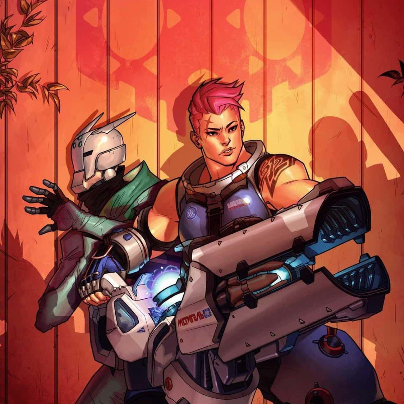 Searching is listed (or ranked) 1 on the list The Best Overwatch Comics, Ranked