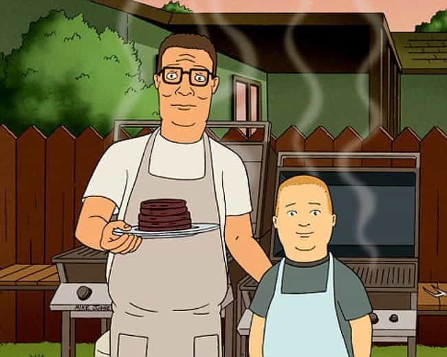 Hank Isn't Bobby's Real ... is listed (or ranked) 4 on the list Fan Theories About Hank Hill From 'King Of The Hill'