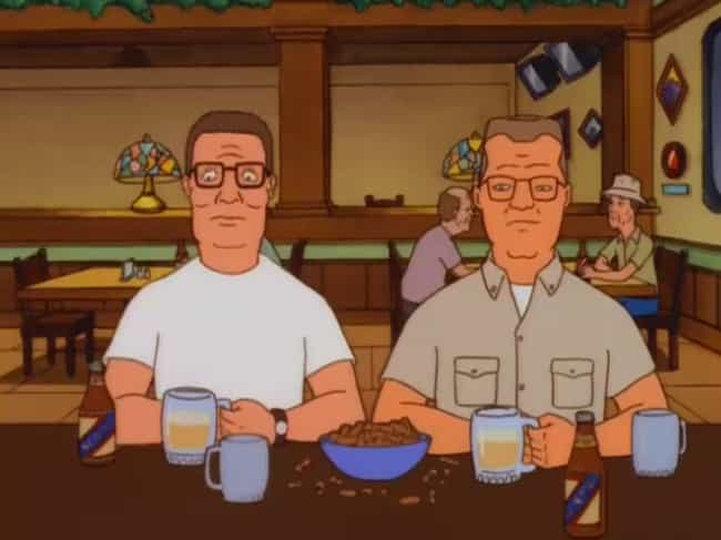 Hal Is Secretly Hank's H... is listed (or ranked) 2 on the list Fan Theories About Hank Hill From 'King Of The Hill'