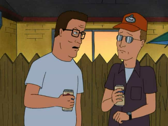 Hank Doesn't Tell Dale A... is listed (or ranked) 3 on the list Fan Theories About Hank Hill From 'King Of The Hill'