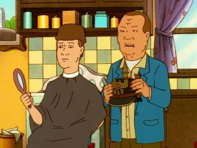 Hank Was Psychologically... is listed (or ranked) 1 on the list Fan Theories About Hank Hill From 'King Of The Hill'