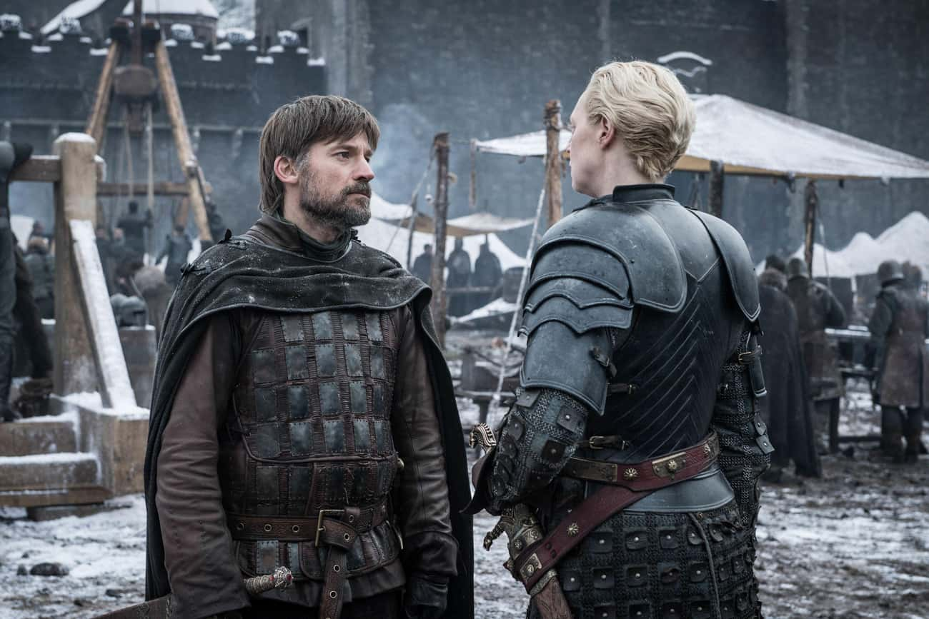 Jaime And Brienne is listed (or ranked) 1 on the list The Best Couples On Game Of Thrones