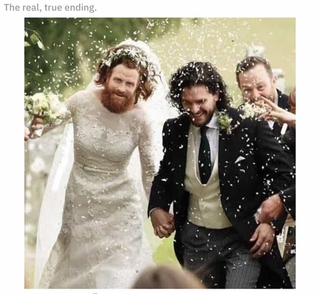 The Ending We Deserved is listed (or ranked) 1 on the list The 15 Funniest Tormund Memes