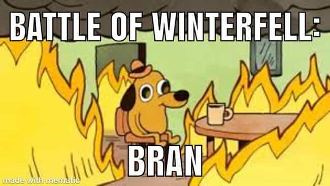 Bran Is Fine is listed (or ranked) 4 on the list The 34 Funniest Bran Memes
