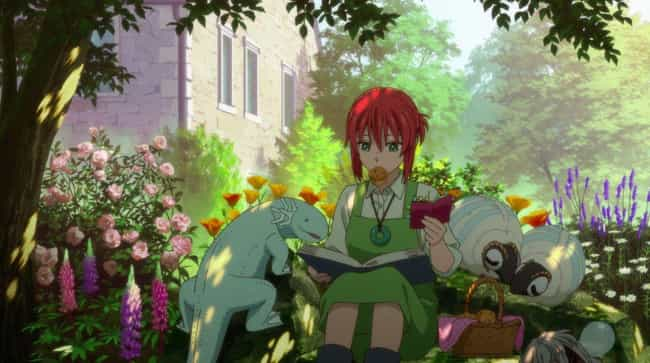 The Ancient Magus' Bride... is listed (or ranked) 4 on the list The Best Anime Like 'Natsume's Book of Friends'