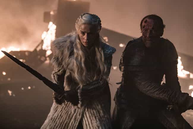 Jorah Protects Dany During The... is listed (or ranked) 4 on the list 14 Moments From 'Game Of Thrones'' Final Season We Loved