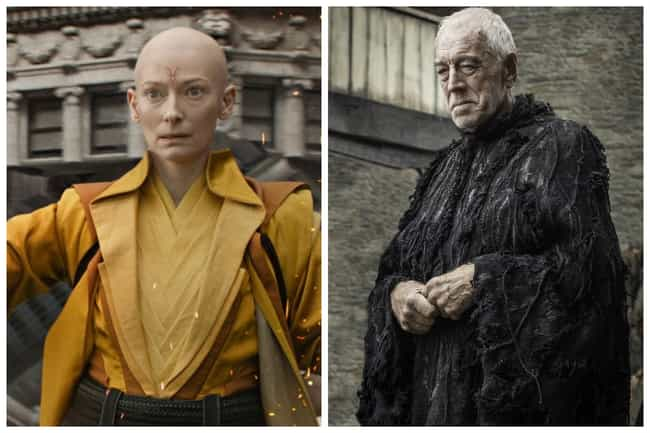 The Ancient One - The Three-Ey... is listed (or ranked) 1 on the list Who Would The Avengers Play On 'Game Of Thrones'?