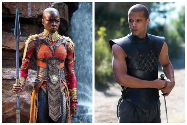 Okoye - Grey Worm is listed (or ranked) 4 on the list Who Would The Avengers Play On 'Game Of Thrones'?