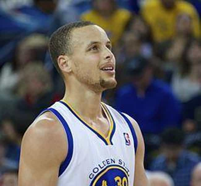 Stephen Curry is listed (or ranked) 8 on the list The Sexiest Sports Superstars