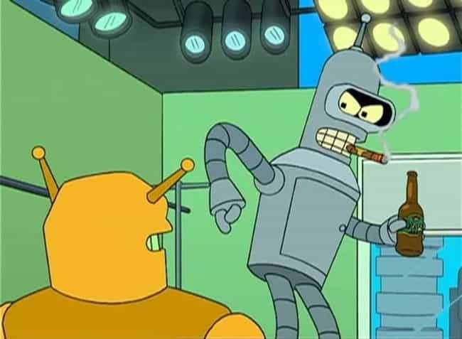 Bender Shined His Butt Plate T... is listed (or ranked) 4 on the list Fan Theories About Bender From 'Futurama'