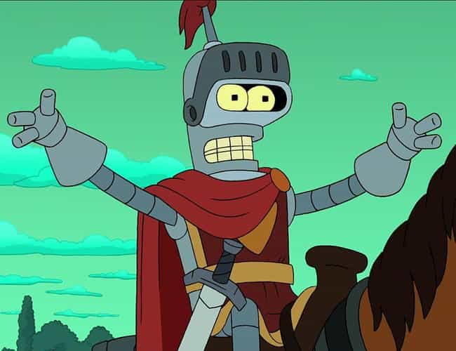 The Last Half Of 'Bender's Gam... is listed (or ranked) 4 on the list Fan Theories About Bender From 'Futurama'