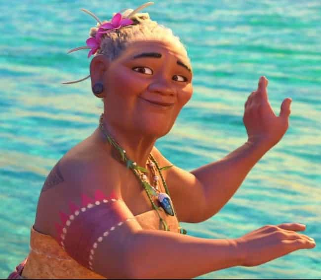 Moana's Grandmother Poses As T... is listed (or ranked) 4 on the list 'Moana' Fan Theories That Might Just Be Right